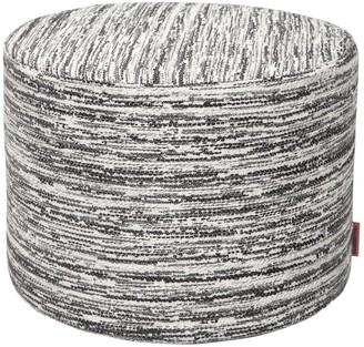 Missoni Wattens Wool Blend Jacquard Pouf
