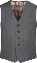 Ted Baker Endurance Wool Waistcoat Grey