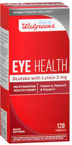 Walgreens Eye Health Ocutabs with Lutein 2mg, Tablets
