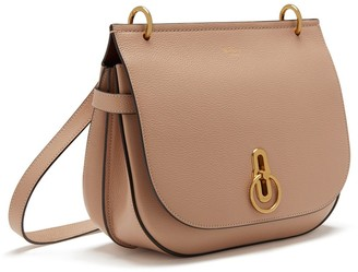 Mulberry Amberley Satchel Rosewater Small Classic Grain