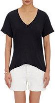Current/Elliott Women's V-Neck T-Shirt-BLACK