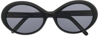 Christian Roth Series oval sunglasses