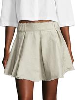 IRO Women's Acanta Linen Mini Skirt