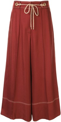Peter Pilotto Wide-Leg Flared Trousers