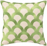 D.L. Rhein Avocado Scales Embroidered Pillow
