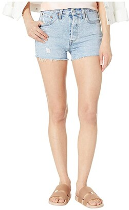 Levi's Womens 501(r) High-Rise Shorts (Tango Light) Women's Shorts