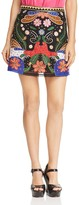 Alice + Olivia Riley Embellished A-Line Mini Skirt - 100% Exclusive