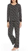 Sleep Sense Petite Merry Lights Pajamas