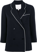 Tibi fitted jacket - women - Silk/Polyester - 4