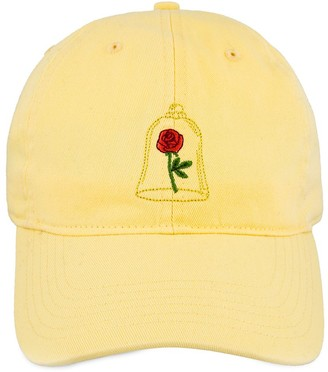 Disney Beauty and the Beast Enchanted Rose Baseball Cap for Adults