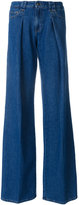 RED Valentino flared wide-leg jeans - women - Cotton/Polyester - 40