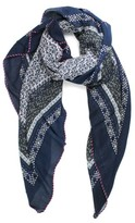 Michael Stars Women's Little Ditsy Square Scarf