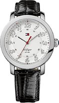 Tommy Hilfiger 1781218 Leather Ladies Watch - Round Stainless Steel Case