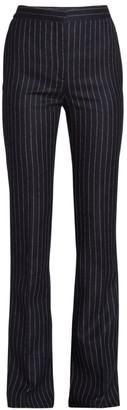 Alexander McQueen Pinstripe Wool Pants