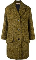 Marni oversized tweed coat