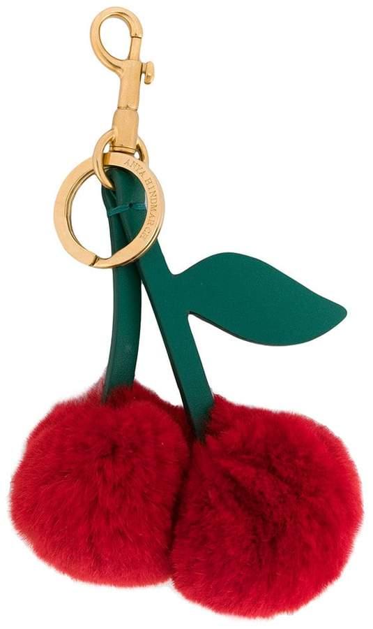 Anya Hindmarch Cherry Rabbit tassel