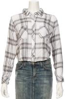 Rails Rian Cropped Plaid Shirt