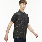 Lacoste Men's Live Regular Fit Speckled Print Mini Piqu Polo