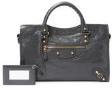 Balenciaga Giant 12 Gold City Medium Leather Leather Satchel