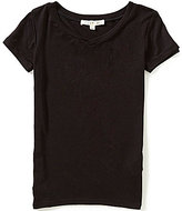 Copper Key Little Girls 2T-6X Knit Layering Tee