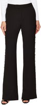 Prabal Gurung Women's Buttoned Low-Rise Flared Pant