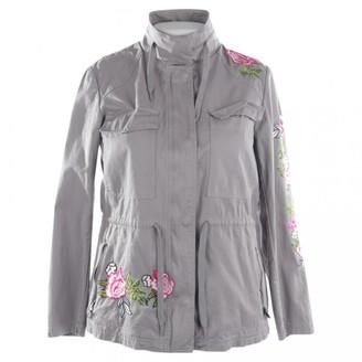 Thomas Rath Grey Cotton Jacket for Women