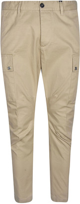DSQUARED2 Side Cargo Buttoned Pocket Track Pants