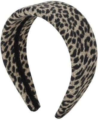 Ca&Lou Anastasia Animalier Wool Headband