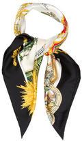 Hermes Sanssoucy Silk Scarf