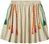 Scotch & Soda Tasseled Jersey Skirt