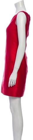 Thumbnail for your product : Oscar de la Renta 2009 Mini Dress Red
