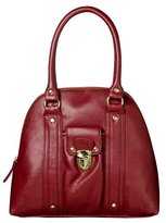Nocturnal Dome Small Satchel - Red Pebble