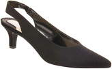 Ros Hommerson Black Microtouch Kaitlin Slingback