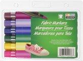 Uchida Fabric Marker Brush Tip, 6-Pack