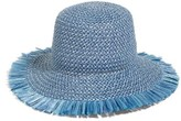 Eric Javits Women's 'Tiki' Bucket Hat - Blue