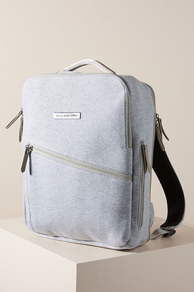Petunia Pickle Bottom Work and Play Diaper Backpack By in Grey