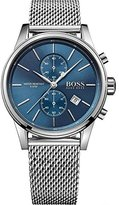 HUGO BOSS 1513441 Blue / Silver Stainless Steel Analog Quartz Men's Watch
