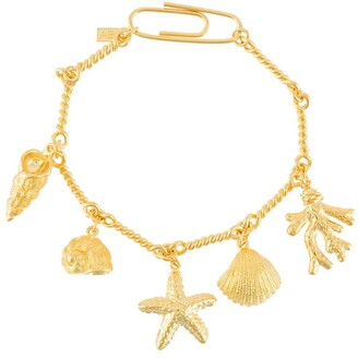 Aurélie Bidermann Cassis charm bracelet