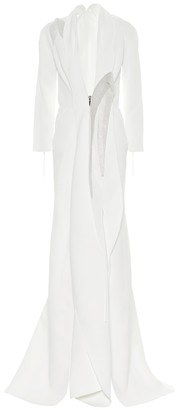 Maticevski Declare crepe gown