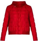 Moncler Gamme Rouge Nastya hooded silk-twill jacket