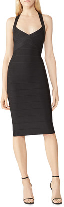 Herve Leger Crossback Bodycon Dress
