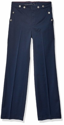 Tommy Hilfiger Women's Adaptive Wide Leg Pants with Elastic Waist