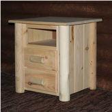 Asstd National Brand Frontier Pine 2-Drawer Nightstand
