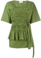 3.1 Phillip Lim ruched detail blouse - women - Cotton - 14