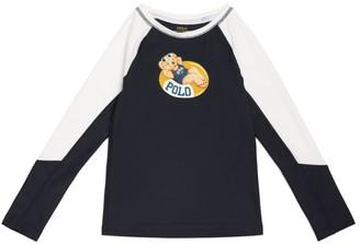 Ralph Lauren Kids Polo Bear Rash Guard (5-7 Years)