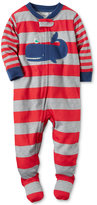 Carter's 1-Pc. Striped Whale Footed Pajamas, Baby Boys (0-24 months)