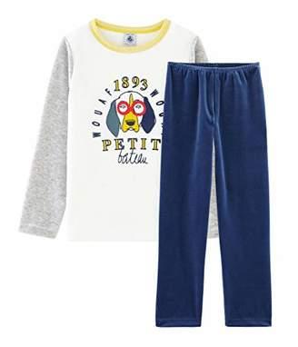 Petit Bateau Boy's Pyjama_4988701 Set,(Size: 8Years/centimeters)