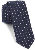 BOSS Dot Silk Skinny Tie