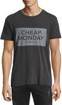 Cheap Monday Graphic-Logo Jersey Tee, Black