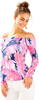 Lilly Pulitzer Audelia Off the Shoulder Top